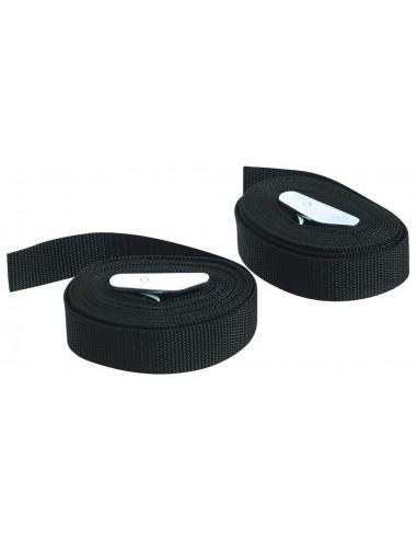 3m x 25mm Roof Rack Straps-Pair