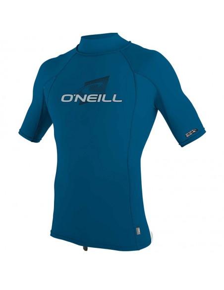 O'Neill Men's Short Sleeve Turtleneck UV Rash Vest