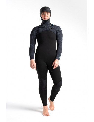 C-Skins ReWired 6/5mm Womens Hooded Wetsuit