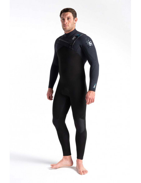 C-Skins Mens ReWired 5/4mm Chest Zip Wetsuit.