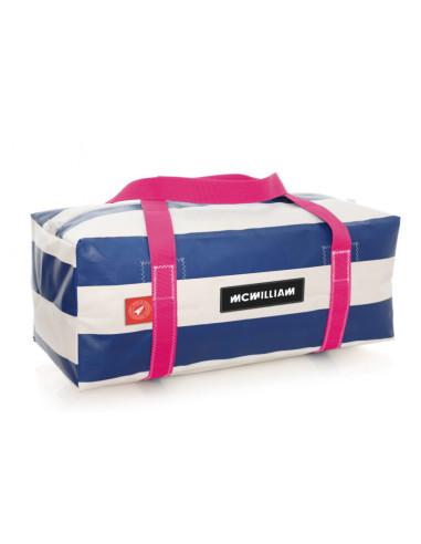 Mc Williams Holdall - Medium - Blue/Pink