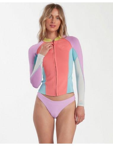 Billabong Women's Peeky Wetsuit Jacket - 2mm