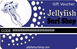 Jelly Fish Surf Shop Gift Voucher
